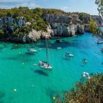 Europe-Spain-Balearic-Islands-Minorca-Cala-Macarella