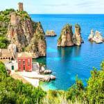 Italy Sicily Sea