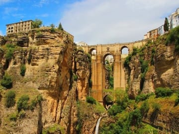 Spain - Andalusia - Ronda - Bridge