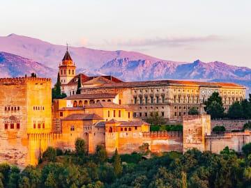 Spain - Andalusia region - Granada province - Granada city - Palace - Charles V