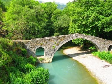 Greece Epirus Zagori Bridge