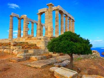 Greece - Attica - Cape Sounion - Temple Poseidon