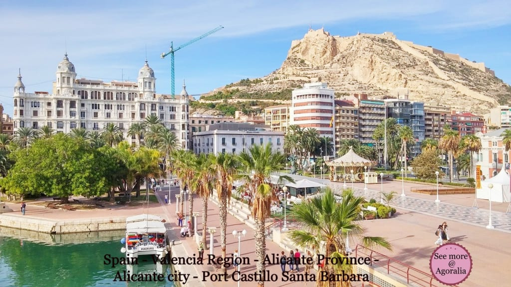 Spain-Valencia-Region-Alicante-Province-Alicante-city-Port-Castillo-Santa-Barbara