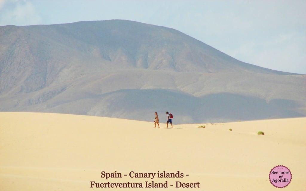 Spain - Canary islands - Fuerteventura Island - Desert