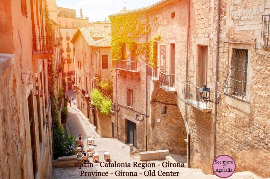 Spain-Catalonia-Region-Girona-Province-Girona-Old-Center