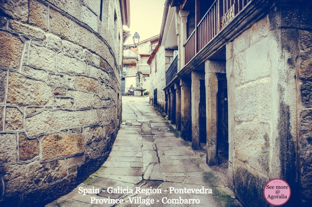 Spain-Galicia-Region-Pontevedra-Province-Village-Combarro