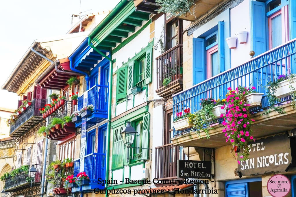 Spain - Basque Country Region - Guipúzcoa province - Hondarribia
