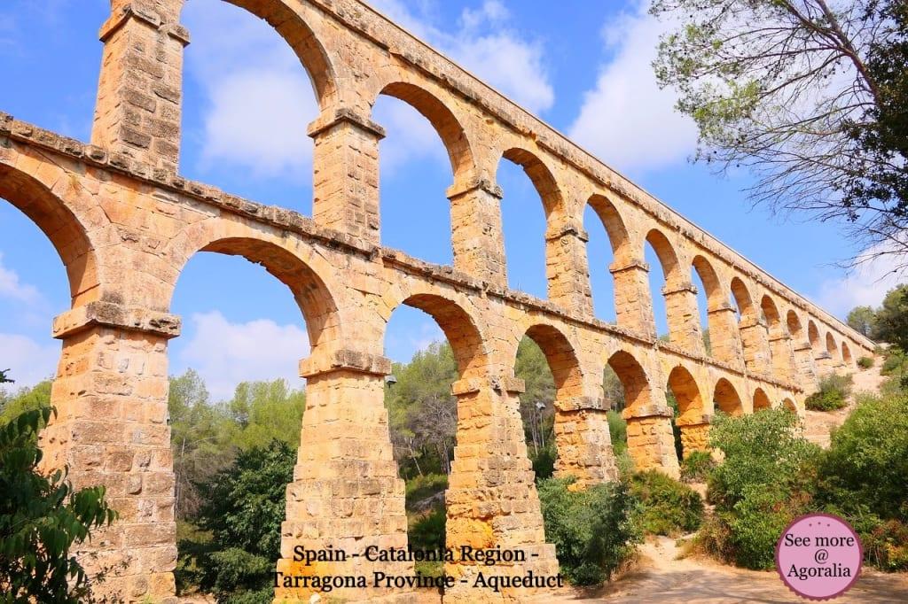 Spain-Catalonia-Region-Tarragona-Province-Aqueduct