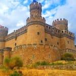 Spain Madrid Region Manzanares Castle