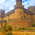 Spain Madrid Region Manzanares Castle