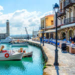 Greece - Crete Island - Rethymno city - Port
