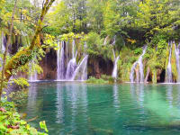 Croatia Lika Senj County Karlovac County Plitvice Lakes National Park UNESCO
