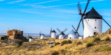 Spain Toledo Consuegra Windmills Don Quixote