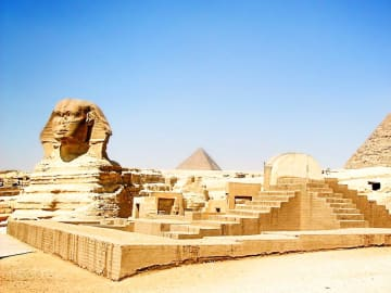 Egypt Giza Monument Sphinx
