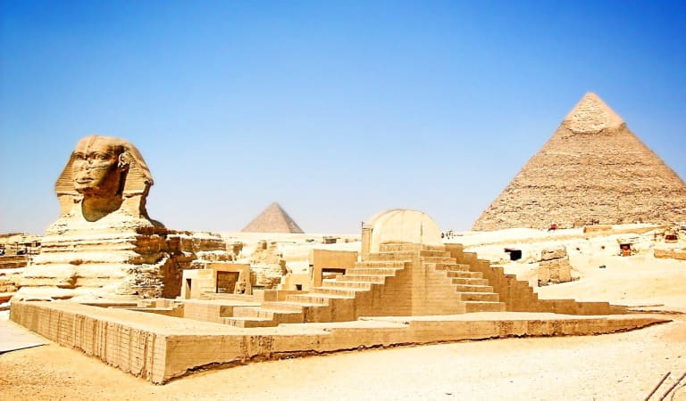 Travel and Discover Egypt from your couch.