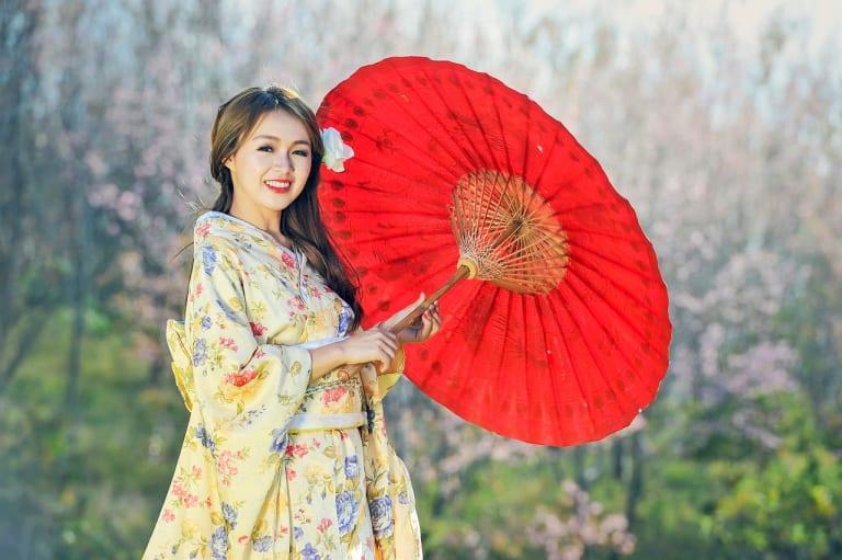 Japan-Traditional-dress-Woman-Geisha