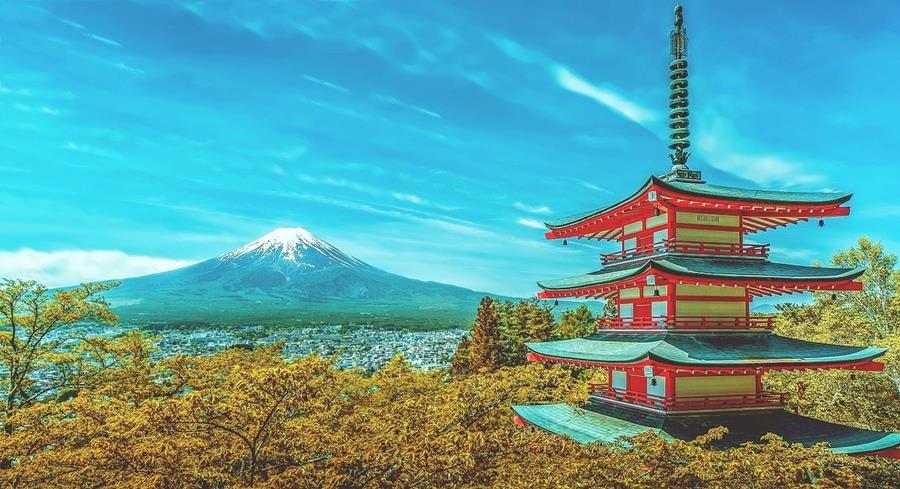 Japan-Shizuoka-Mount-Fuji-Autumn