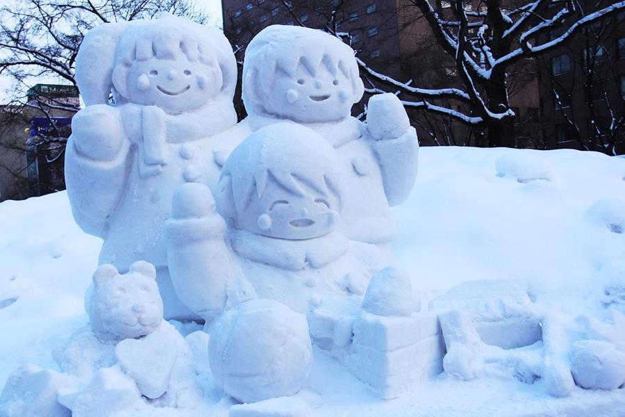 Japan-Festival-Hokkaido-Snow-festival-snow-carving