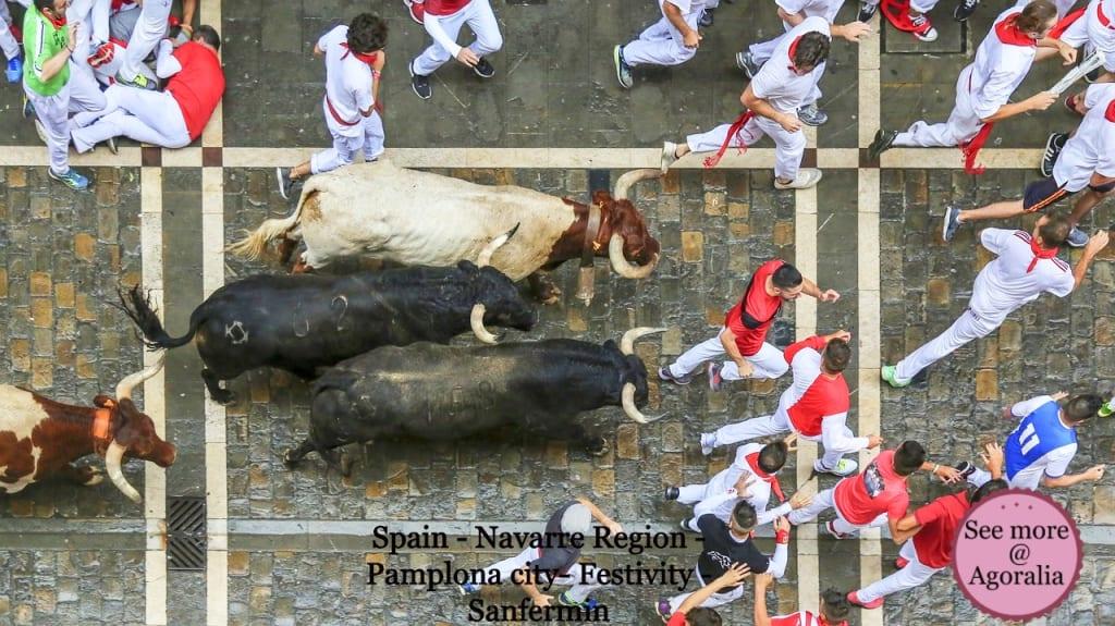 Spain-Navarre-Region-Pamplona-city-Festivity-Sanfermin
