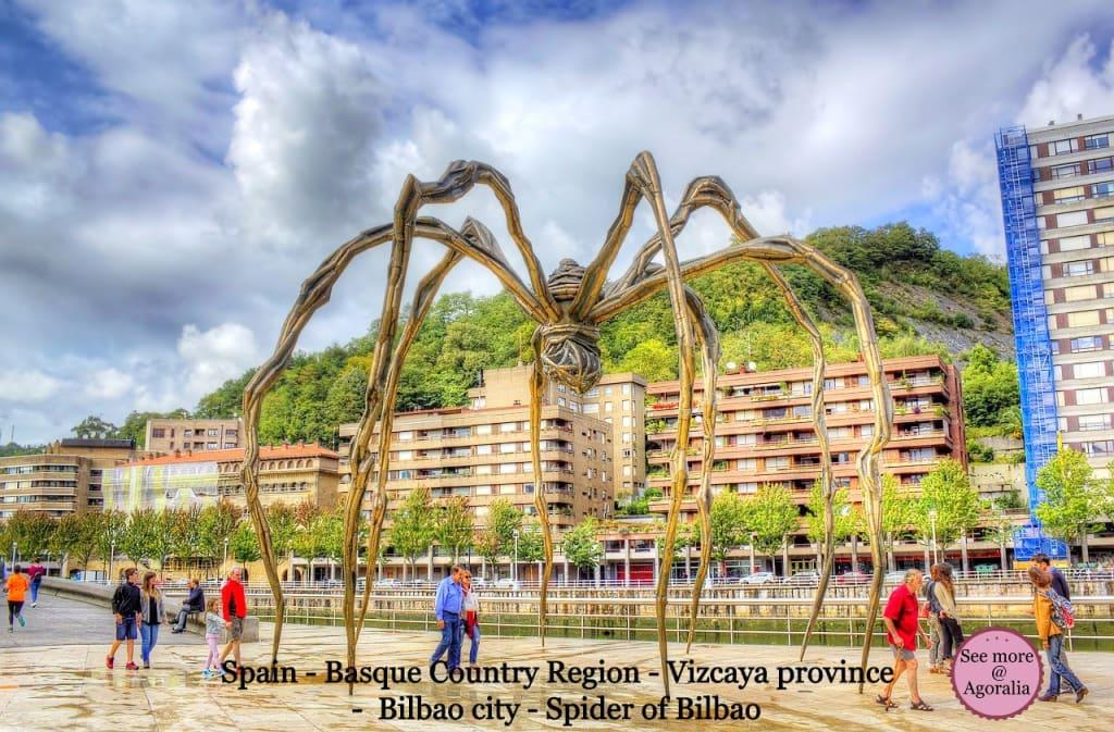 Spain - Basque Country Region - Vizcaya province - Bilbao city - Spider of Bilbao