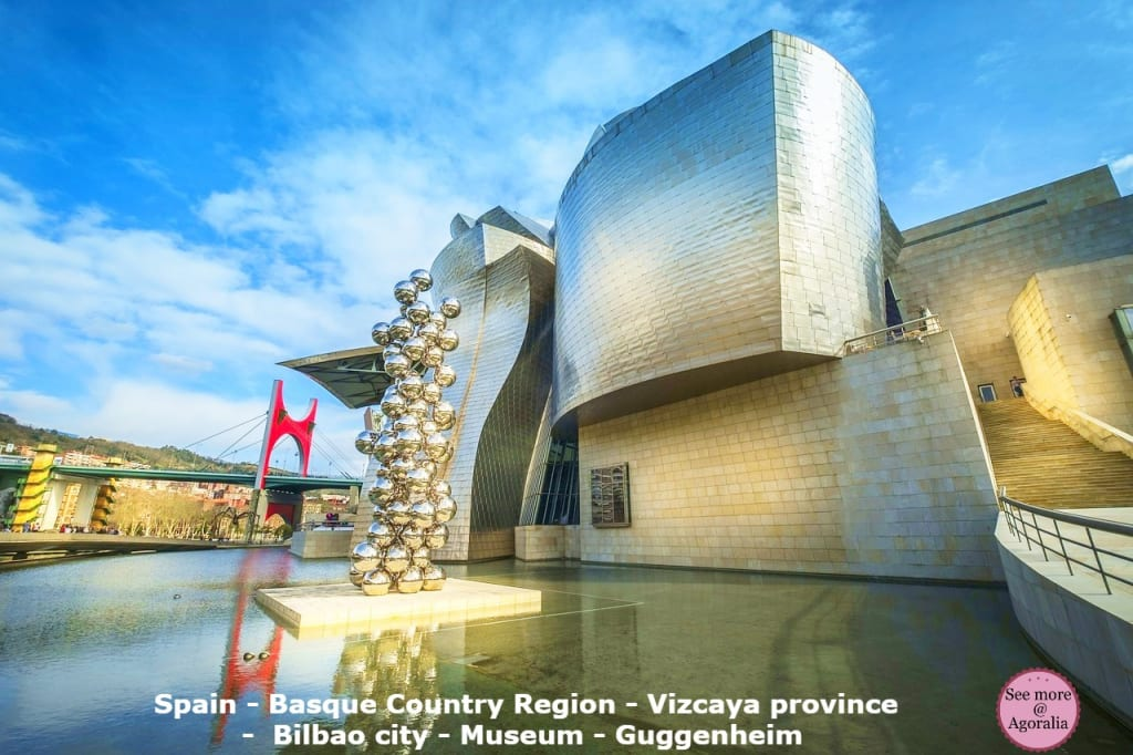 Spain - Basque Country Region - Vizcaya province - Bilbao city - Museum - Guggenheim