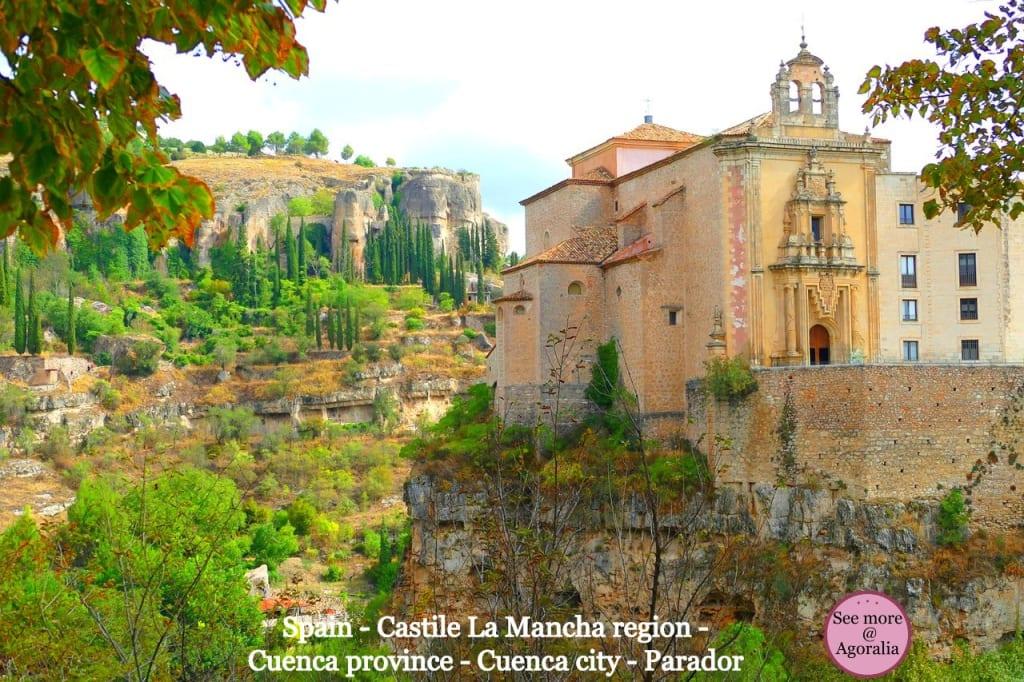 Spain - Castile La Mancha region - Cuenca province - Cuenca city - Parador