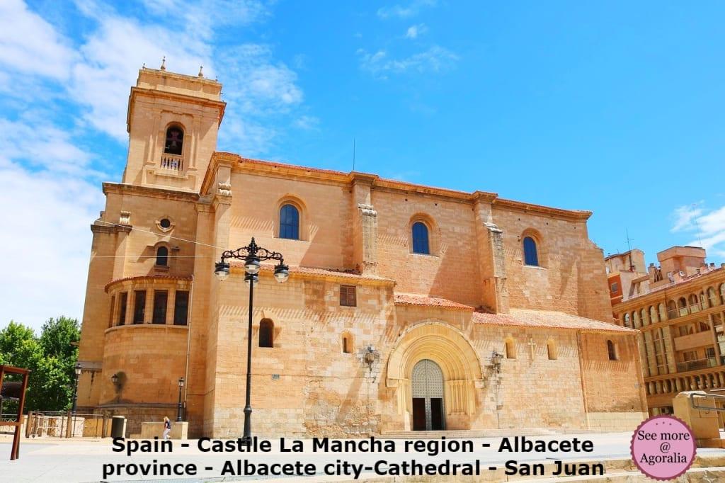 Spain - Castile La Mancha region - Albacete province - Albacete city-Cathedral - San Juan