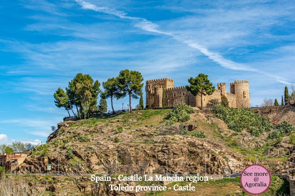 Spain - Castile La Mancha region - Toledo province - Castle