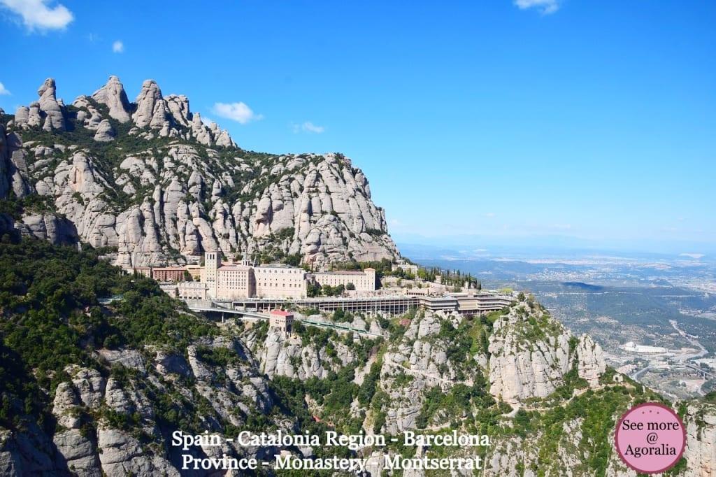 Spain-Catalonia-Region-Barcelona-Province-Monastery-Montserrat