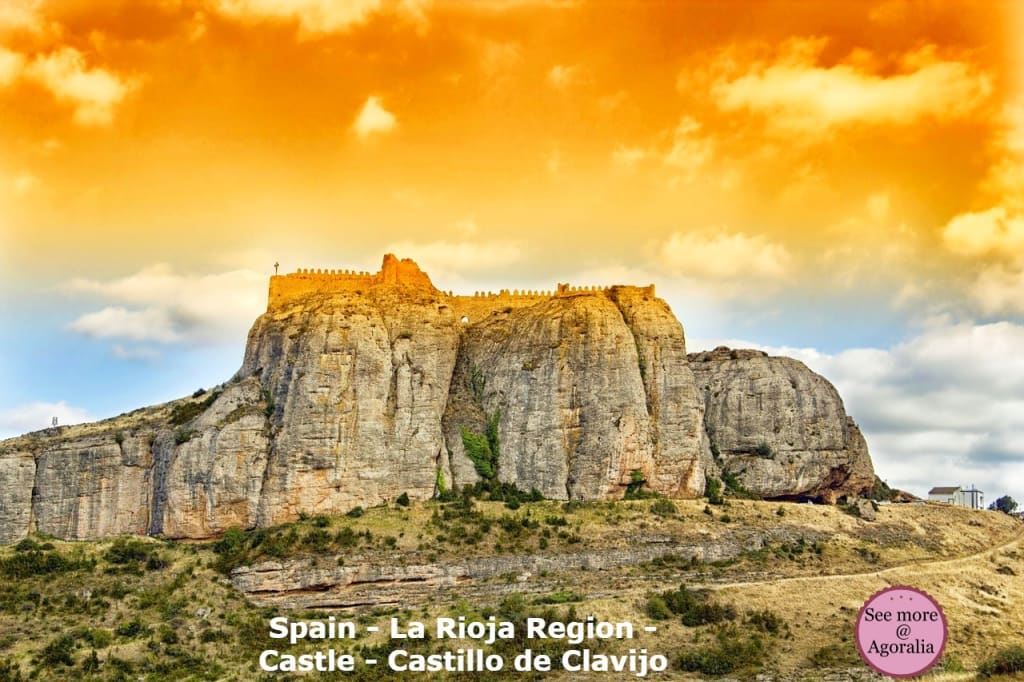 Spain-La-Rioja-Region-Castle-Castillo-de-Clavijo