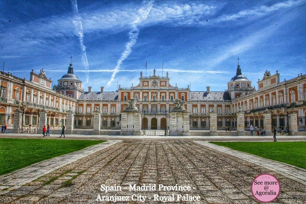 Spain-Madrid-Province-Aranjuez-City-Royal-Palace