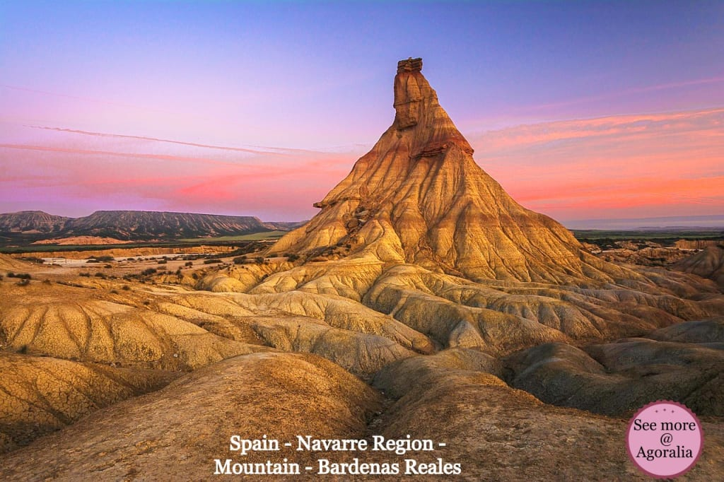 Spain-Navarre-Region-Mountain-Bardenas-Reales
