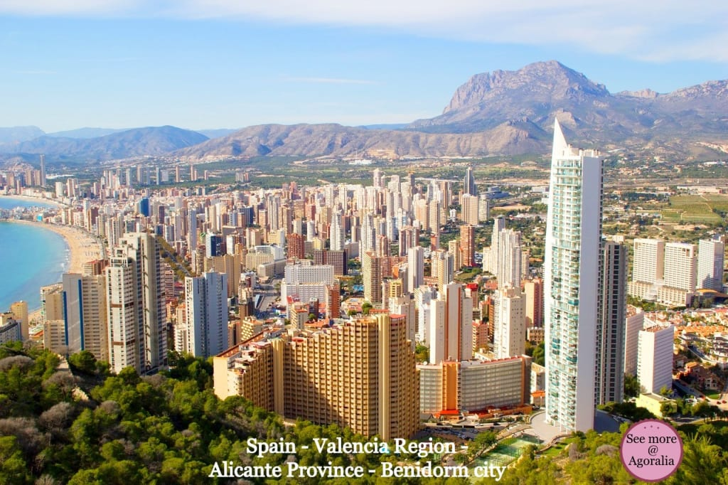 Spain-Valencia-Region-Alicante-Province-Benidorm-city