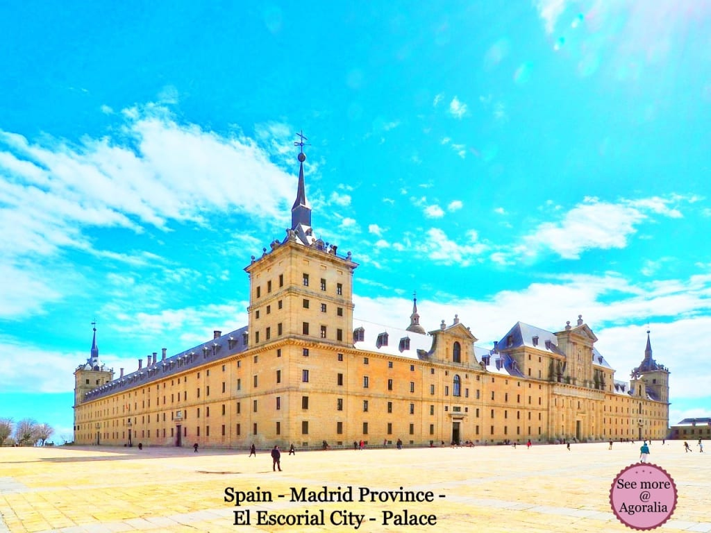 Spain-Madrid-Province-El-Escorial-City-Palace