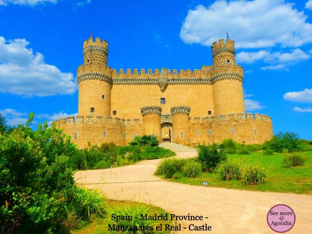 Spain-Madrid-Province-Manzanares-el-Real-Castle