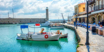 Greece - Crete Island - Rethymno city - Port