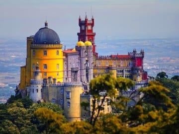 Portugal-Lisbon-Region-Sintra-Castle