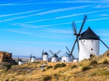 Spain Toledo Consuegra Windmills Don Quixote