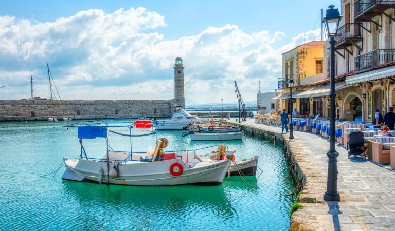 Travel and Discover Rethymno city from your couch. – Crete island – Greece