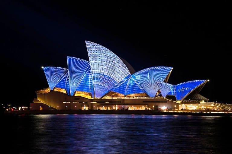 Australia New South Wales Region Sydney city Opera House
