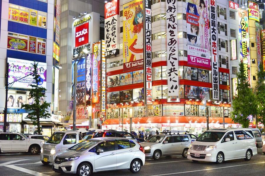 Japan-Tokyo-Akihabara