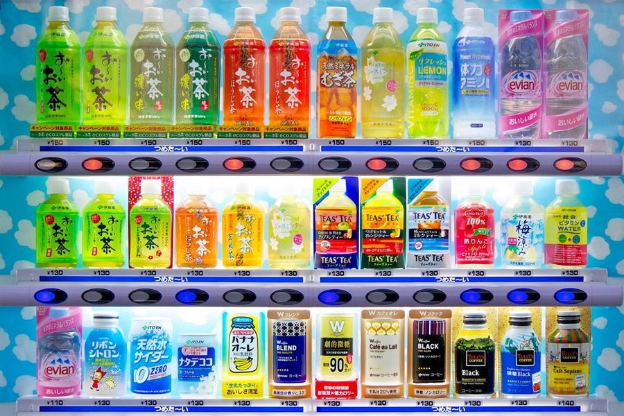 Japan-Vending-Machine-Drinks