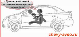 Шевроле Авео — технические характеристики
