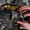Как заменить уплотнительное кольцо катушки зажигания в Авео - Уплотнительное кольцо находится под крышкой