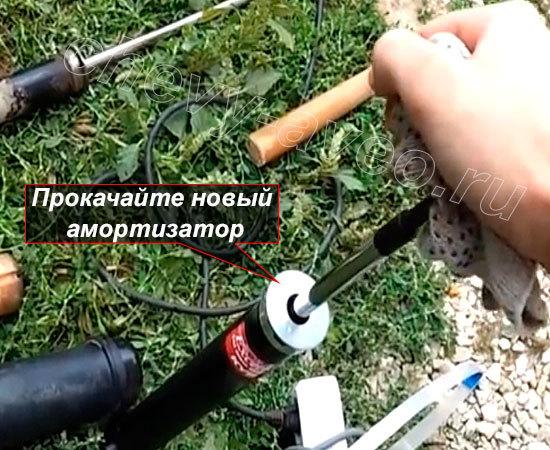 Замена заднего амортизатора Шевроле Авео - Прокачайте новый амортизатор