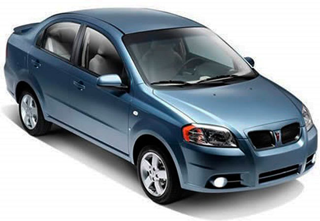 Знакомьтесь-Pontiac G3 он же Шевроле Авео