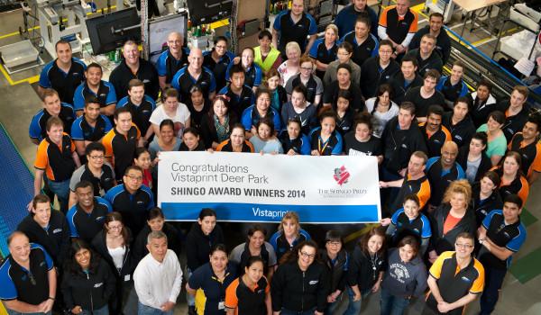 Vistaprint Bronze Medallion Winners