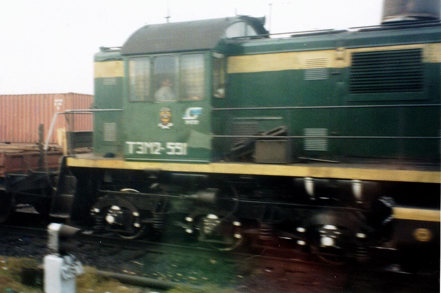 Trains were the main mode of traveling in the late 1990s.