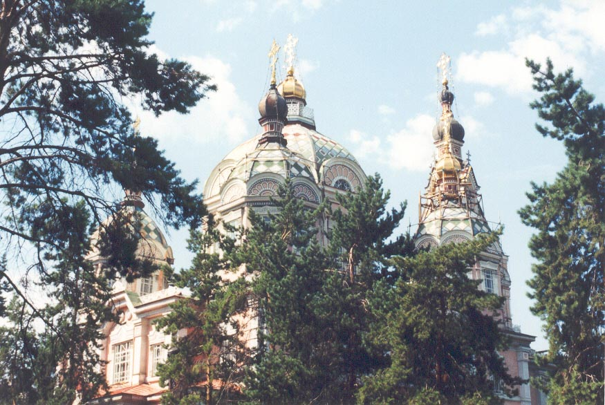 Ascension Cathedral in Almaty, Kazakhstan, (May, 1997)