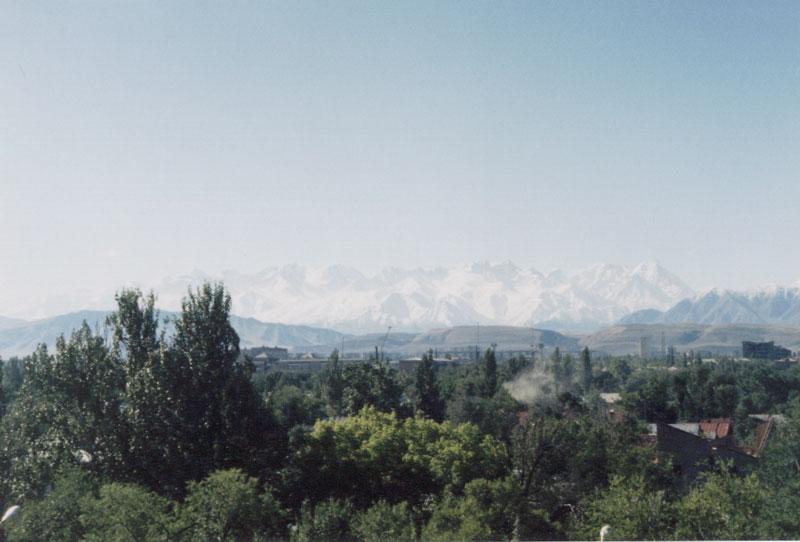 View from Yug Dva (2) - Bishkek, Kyrgyzstan.